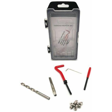 Kit de réparation de filetage Hélicoil Inox M6 PRO 15 pcs en coffret - 350806 - Beast