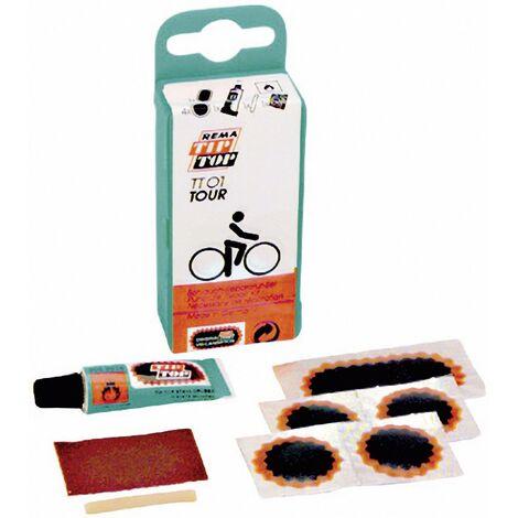 Kit de réparation pour vélo 5 pièces Tip-Top TT-01 Tour 60659 1 set C84035