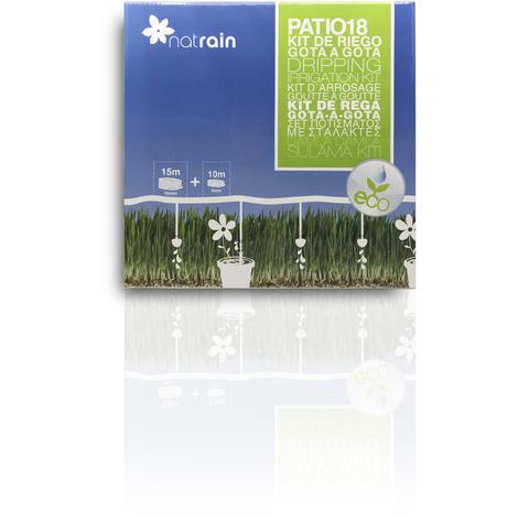 Kit de riego goteo para patio - Jardin y Natura