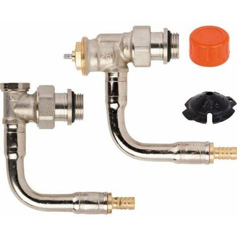 Kit de robinetterie thermostatique pour radiateur Comap
