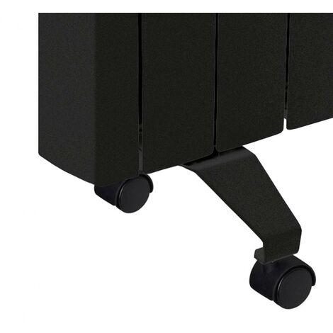 Kit de Ruedas para Radiadores - Negro