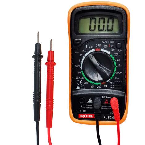 Kit de soldador de temperatura ajustable, 220V 60W Multimetro digital Puntas de soldadura Bomba para desoldar