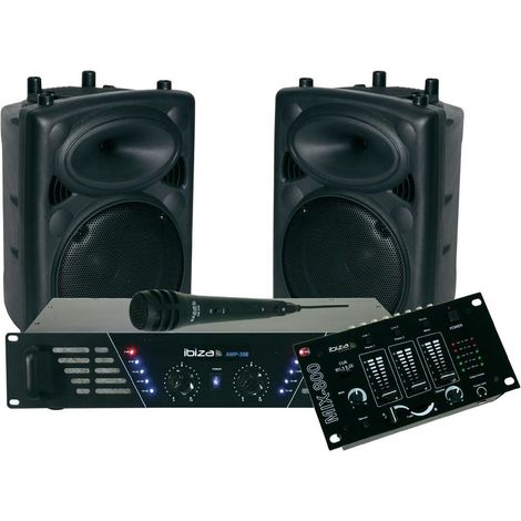 kit de sonorisation 480w - dj300mkii - ibiza sound