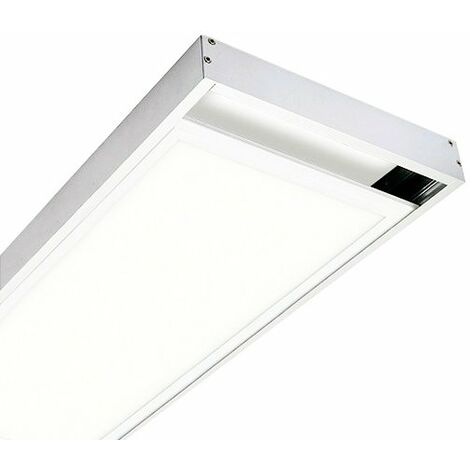 Kit de superficie de Panel 120X30 Blanco Blanco | IluminaShop