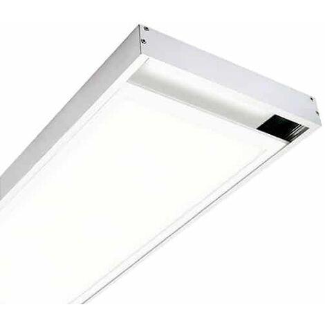 Kit de superficie de Panel 120X60 Blanco Blanco | IluminaShop