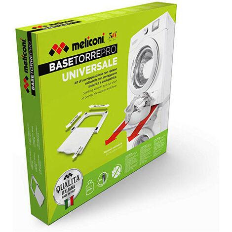 Kit De Superposition Tablette Bois Universel Base Torre Pro Meliconi 656105