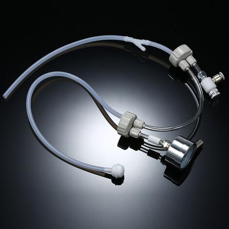 Kit De Systeme Generateur De Co2, Avec Indicateur De Pression, Accessoire D'Aquarium