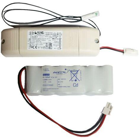 Kit de TCI para la luz de emergencia para la alimentación y módulo LED 12V-24V 350MA 123010