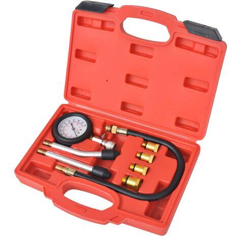 Kit de test de compression de moteur à essence 8 pcs