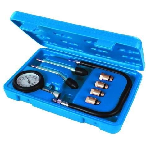 Kit de test de compression pour moteur essence, 8 pcs 0 – 20 kPa / 0 – 300 psi