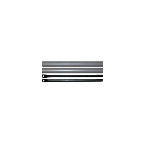 Kit de tringles et capots ISEO pour porte de 3400 mm - Gris métal - 94100307