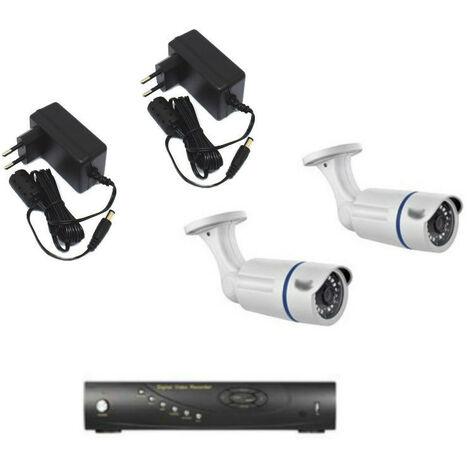 Kit de vidéo surveillance BPT avec un magnétoscope et de deux caméras 64811590