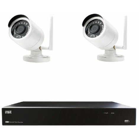 KIT de video Vigilancia Urmet WIFI IP1080 P 4 Canales 1098/800