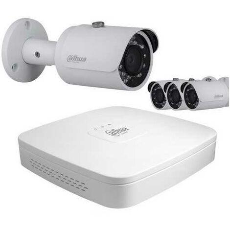 Kit de vidéosurveillance 4 tubes 1080p WBOX