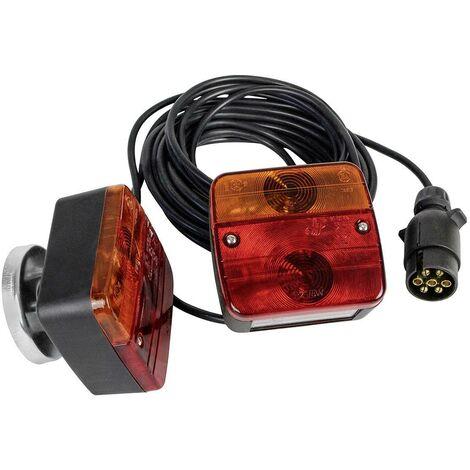 Kit d'éclairage pour remorque LAS 10155 arrière 12 V avec support magnétique 1 pc(s) R475911