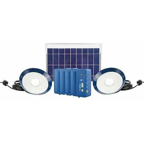 Kit d'éclairage sans fil solaire