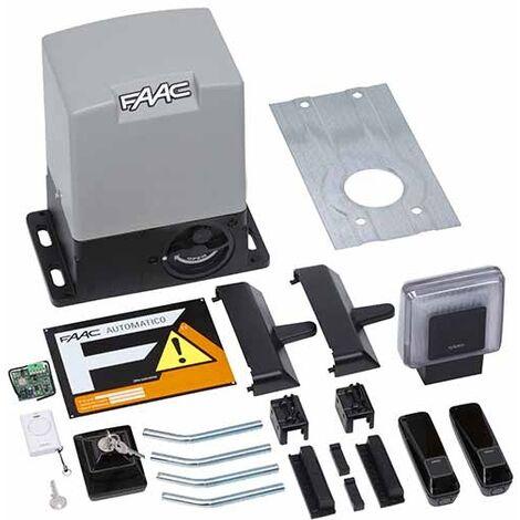 KIT DELTA3 FAAC complète coulissant 900KG 230V SAFE