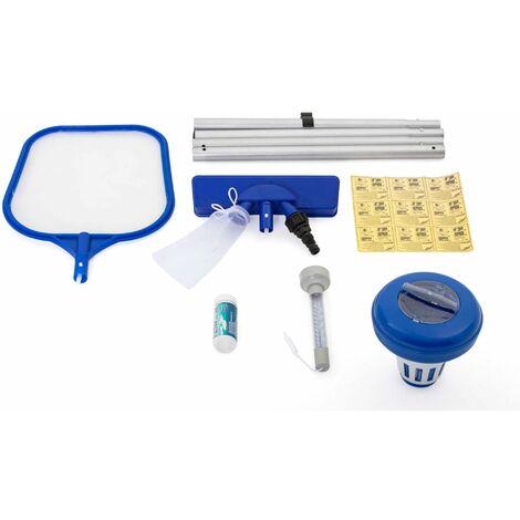 Kit d'entretien Flowclear pour piscines hors sol 6 pièces