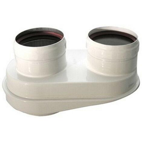 Kit desdoblador de descarga orientable Baxi para calentadores de agua KHG71413621