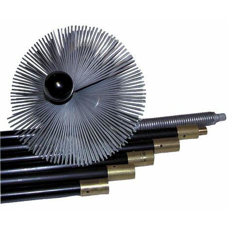 Kit deshollinador acero - DIFF