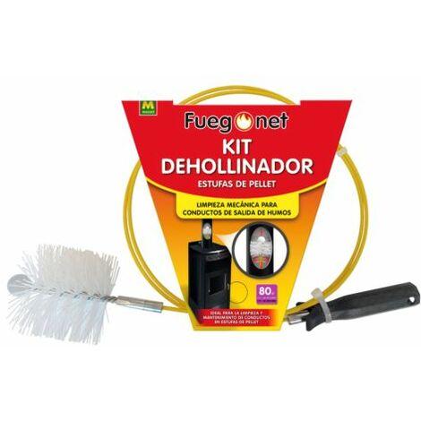 Kit Deshollinador Estufas Pellet 80mm 231544