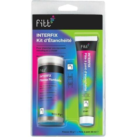 Kit d'étanchéité Filasse 40g et Pâte à joint 50 ml Spécial Eau Potable - INTERFIX de INTERPLAST