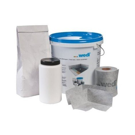 The use of a wet room tray sealing kit