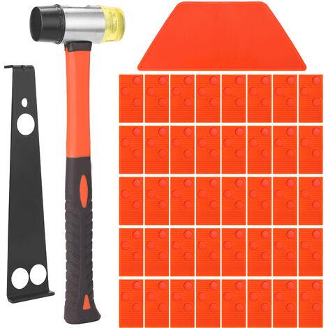 Kit di attrezzi per l'installazione di pavimenti in legno laminato Set di attrezzi per pavimenti in legno