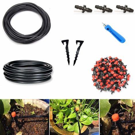 Kit Di Micro Irrigazione A Goccia Per Orto Giardino Vasi