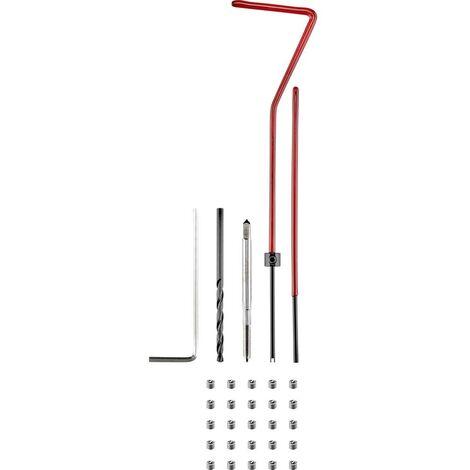 Kit di riparazione filetti 30 parti TOOLCRAFT TO-5017512 M2.5