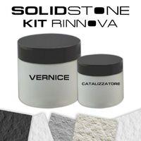 Kit di ripristino per piatti doccia in pietra SolidStone - Kit Verniciatura in colore Grafite Nero