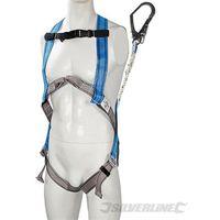 Kit di ritenuta Silverline Imbracatura e assorbitore d'urto