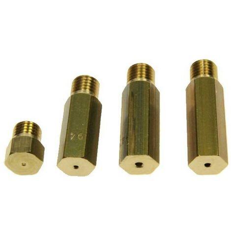 Kit d'injecteurs gaz naturel / gaz de ville (131810-29561) (72X4241) Four, cuisinière BRANDT, SAUTER, FAGOR, VEDETTE