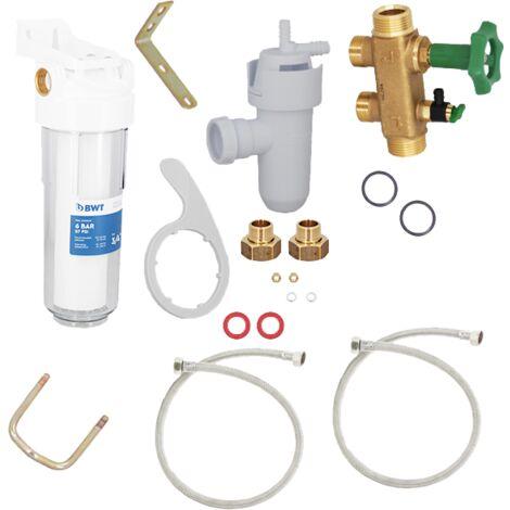 Kit d'installation adoucisseur BWT de BWT - Adoucisseur d'eau