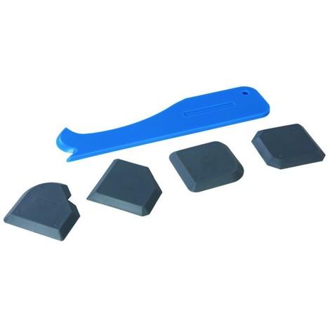 Kit d'instruments de lissage de joints, 5 pcs