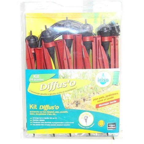 kit d 39 irrigation iriso goutte goutte 10 goutteurs. Black Bedroom Furniture Sets. Home Design Ideas