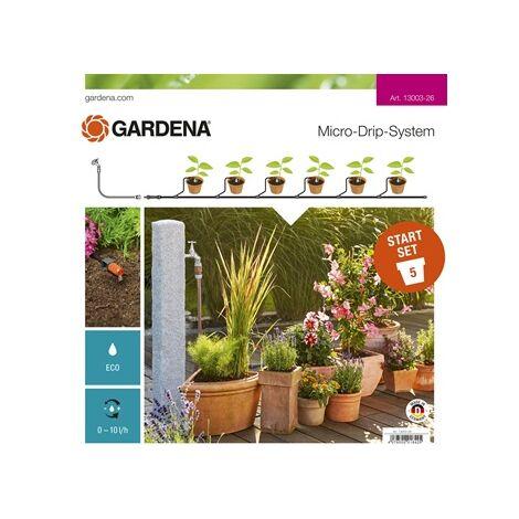 Kit d'irrigation Micro-Drip system pour 15 pots