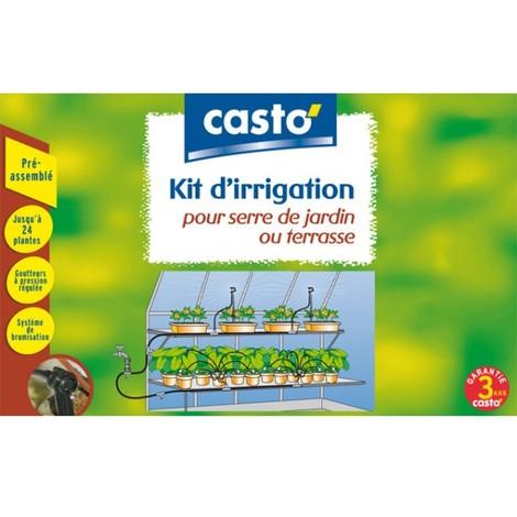 Kit d'irrigation pour serre de jardin ou terrasse