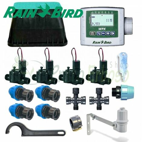 Kit d'irrigation Rain Bird 4-zone 9V