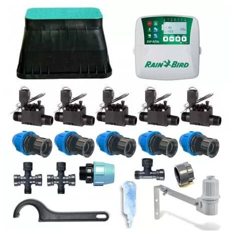 Kit d'irrigation Rain Bird 5 zone 24V