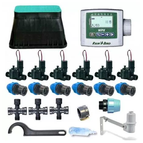 Kit d'irrigation Rain Bird 6-zone 9V