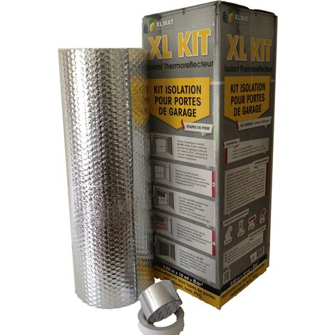 Kit d'isolation pour portes de garage