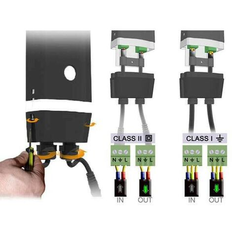 kit domotique easy connect commande éclairage extérieur sans fil