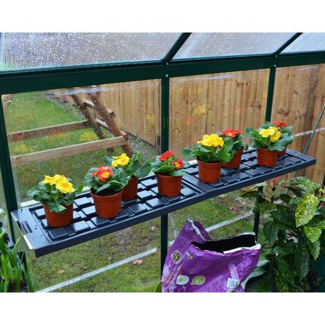 Kit Double étagères pour Serre de Jardin