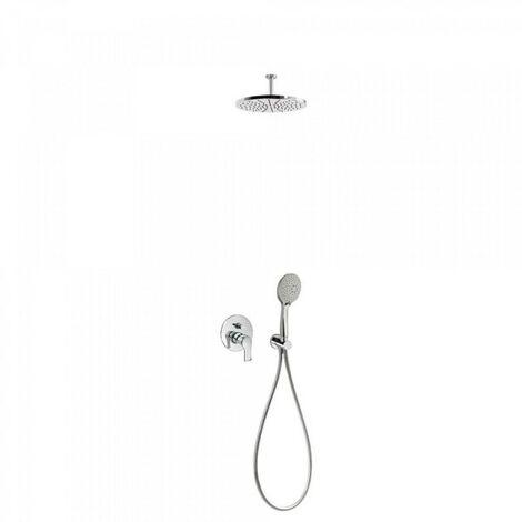 Kit douche à encastrer avec fermeture et réglage du débit - TRES 06918080