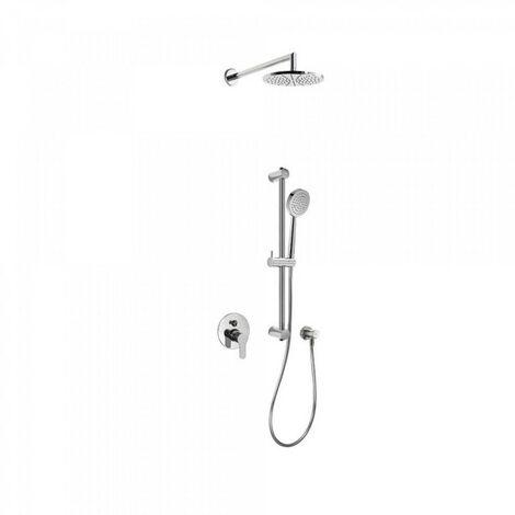 Kit douche à encastrer avec fermeture et réglage du débit - TRES 117980