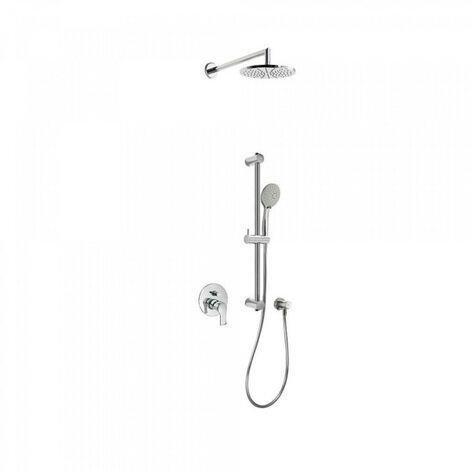Kit douche à encastrer avec fermeture et réglage du débit - TRES 169980