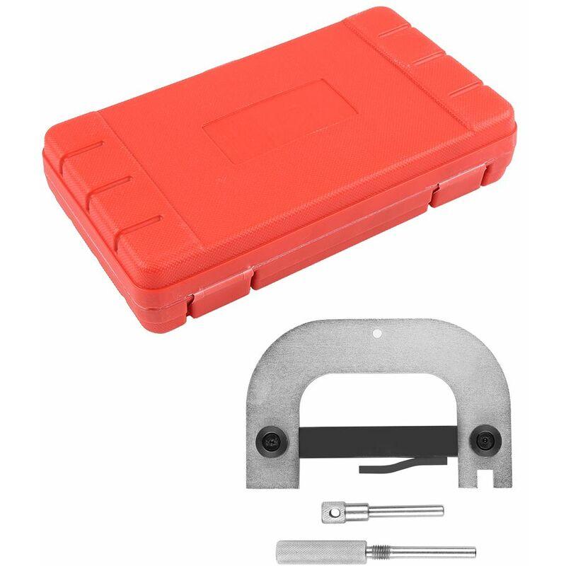 Jeobest - kit d'outils de Calage du Moteur Argent métal noir - Argent-noir
