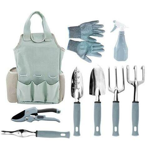 Kit d'outils de jardinage (9 pièces)