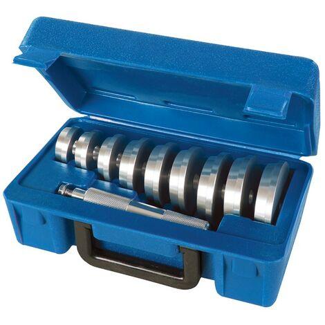 Kit d'outils de montage de roulements et de joints, 10 pcs - 40 - 81 mm